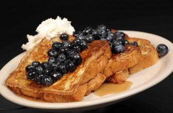 Blueberry Toast